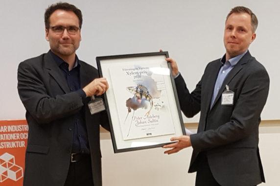 Johan Saltin och Peter Asteberg